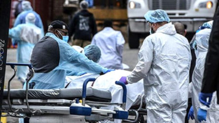 ABD'de koronavirüsten ölü sayısı son 24 saatte yine binin üstünde