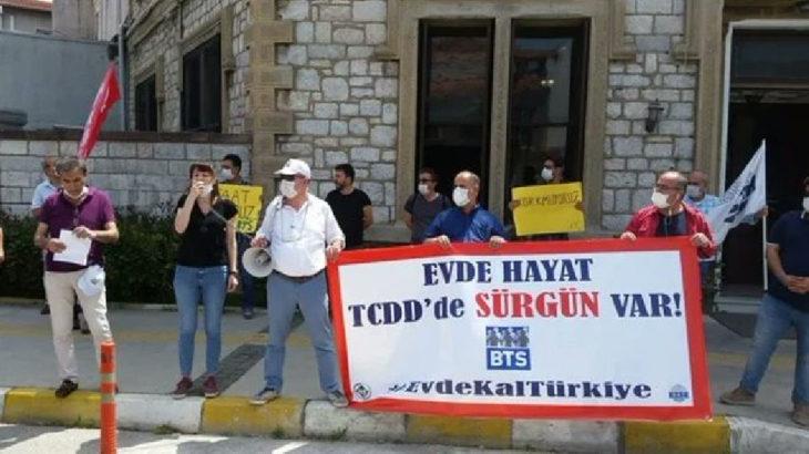 İzmir'de BTS üyeleri sürgünlere karşı eylemde