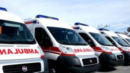 Tedbirlere takılmamak için ambulans kiralamışlar