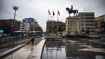 Ankara'ya sel uyarısı