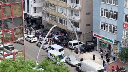 Ankara'da HDP'nin kayyım eylemine polis saldırdı: 11 gözaltı