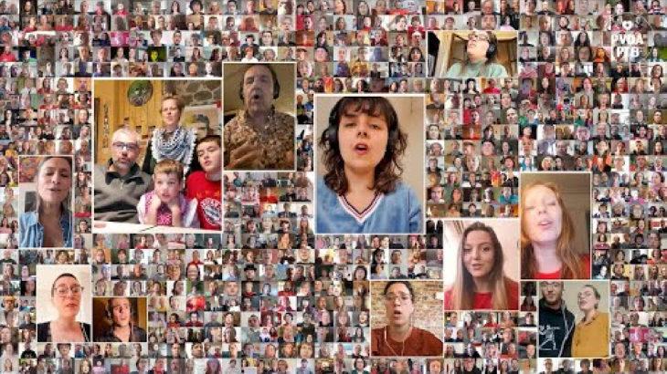 Belçika'da bin kişi 1 Mayıs'ı Çav Bella söyleyerek kutladı