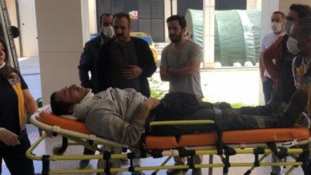 Bursa'da 2 işçi silo ile birlikte yere çakıldı: Demir plakalar işçilerin üzerine düştü