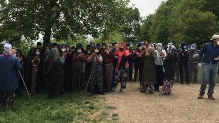 Bursa'da talana direnen köylüler: Bize terörist muamelesi yapılıyor, hani köylü milletin efendisiydi