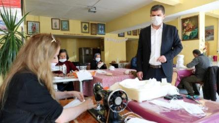 CHP'li belediyenin maske atölyesi hakkında araştırma başlatıldı
