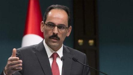 Cumhurbaşkanlığı Sözcüsü Kalın'dan 'tıbbi yardım' açıklaması: İhtiyaç fazlasını gönderdik