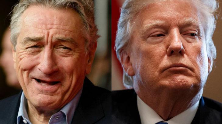 Robert De Niro, Trump'a 'aptal' diye seslendi