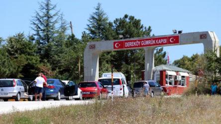 Dereköy Sınır Kapısı açıldı