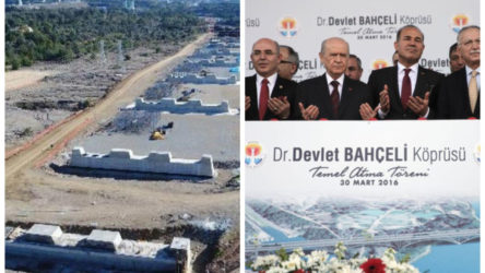 'Devlet Bahçeli Köprüsü' 4 yılda tamamlanamadı: Şirket, 600 milyon TL daha istiyor
