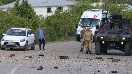 Erzincan'da EYP'li saldırı: 1 asker yaralandı