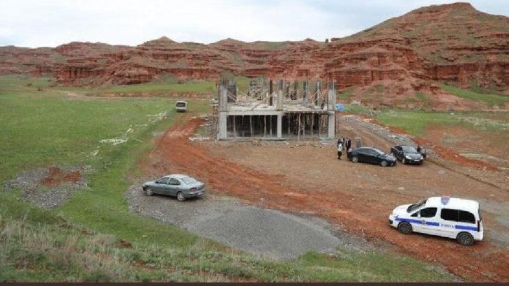 Erzurum'da UNESCO jeopark adayı Narman Kanyonu'na belediye talanı