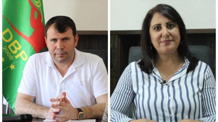 Eski DBP eş genel başkanları tutuklandı