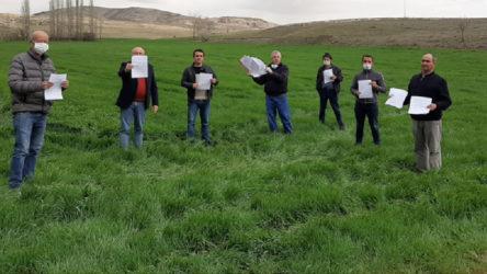 Eskişehir'de siyanür barajına onay, direnen köylülere gözdağı!