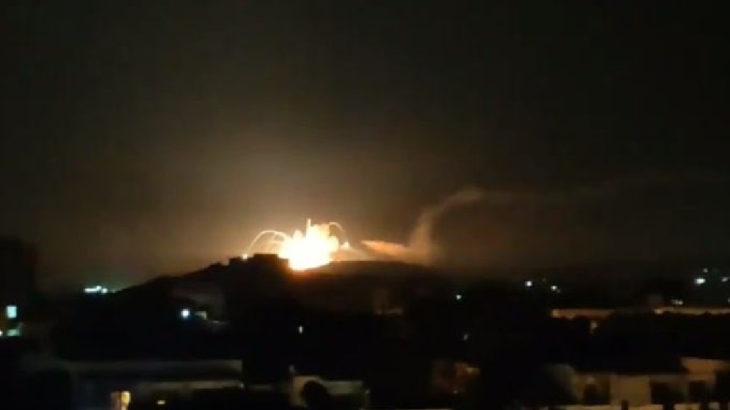 İsrail yine Suriye'ye saldırdı