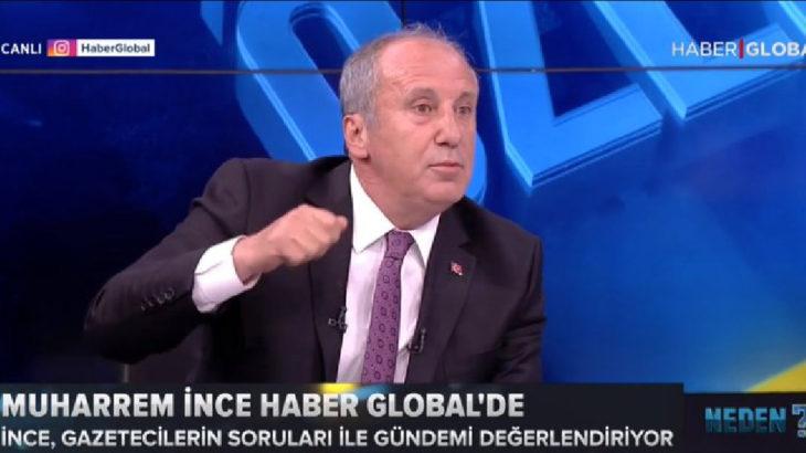 Haber Global'den Muharrem İnce açıklaması