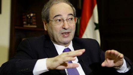 Faysal Mikdad: ABD'nin yaptırımları ahlaksızca ve insanlık dışı