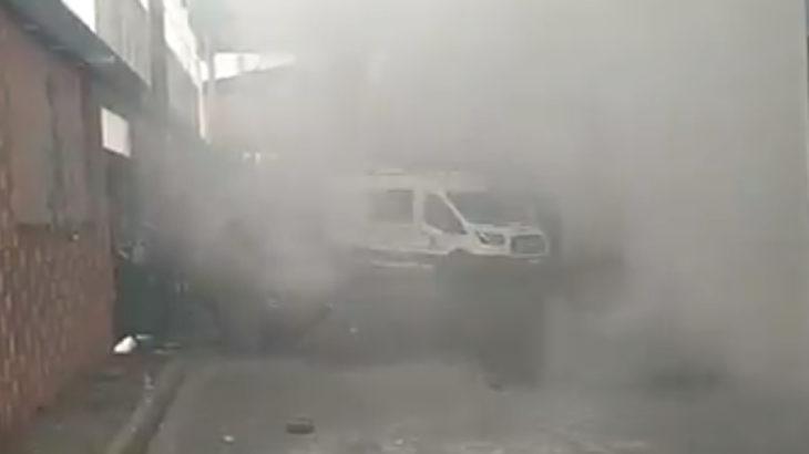 Gazi'de İbrahim Gökçek'i uğurlamak isteyenlere polis saldırısı