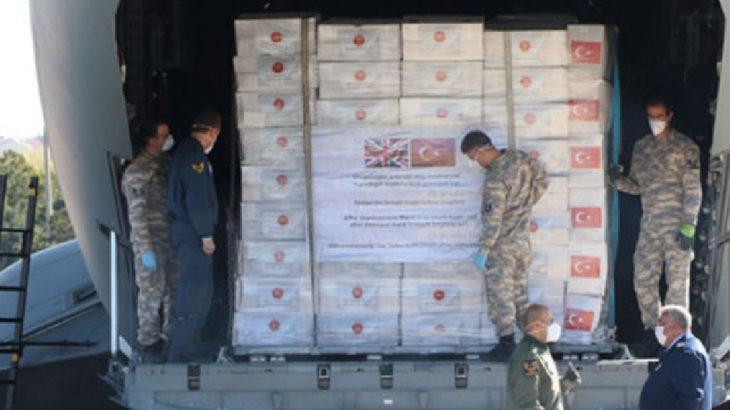 İngiltere, Türkiye'den giden 400 bin ekipmanı 'standartlara uymadığı' için iade ediyor