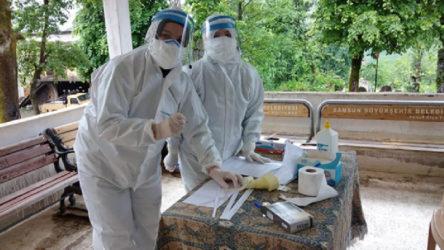 Hasat için Rize'ye gelen bazı üreticilerde koronavirüs tespit edildi