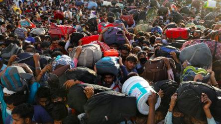 Hindistan'da Nisan ayında 122 milyon kişi işsiz kaldı