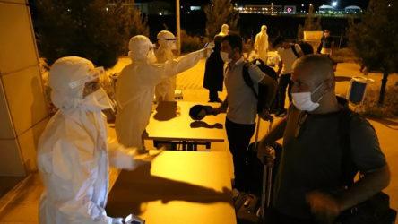 Irak'tan getirilen Türk vatandaşları Batman'da karantina altına alındı