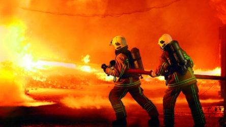 Tahran'da yangın paniği