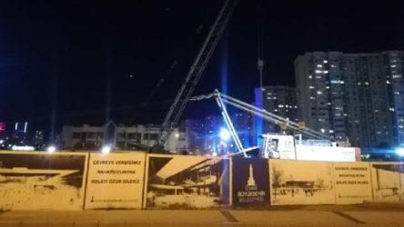 İzmir Karşıyaka'da iş çinayeti: Opera inşaatında devrilen vincin altında kalan işçi hayatını kaybetti