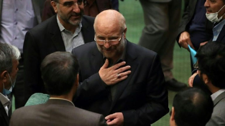 İran'da yeni Meclis Başkanı Kalibaf oldu