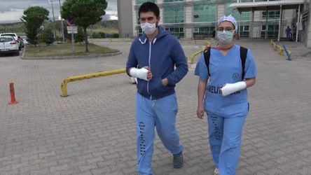 İki doktor hastanede darp edildi!