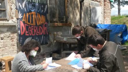 Kazdağları'nda çevre nöbeti tutanlara 57 bin lira ceza kesildi