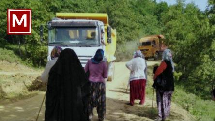 Bursa Kirazlıyayla'da madencilik tesisi için kıyım sürüyor