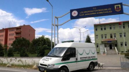 Kırklareli'nde belediyenin cenaze aracını çalıp uyuşturucu almaya gittiler