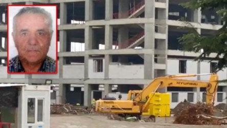 Kocaeli Gölcük'te iş cinayeti: Hastane inşaatında 2. kattan düşen işçi yaşamını yitirdi
