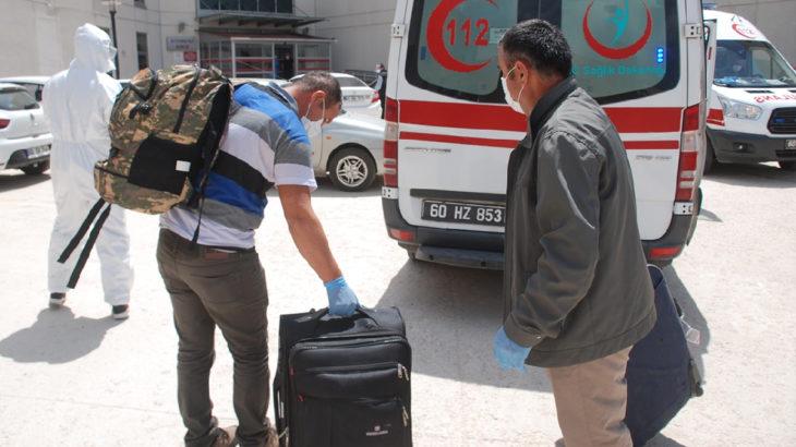 Kuveyt'ten Türkiye'ye getirilen 36 işçide koronavirüs tespit edildi