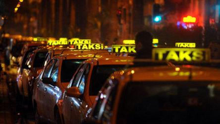 Taksilere hijyen düzenlemesi