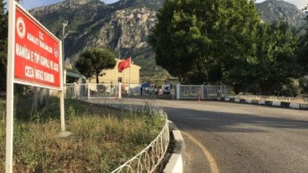 Manisa Şehzadeler'de bulunan E Tipi Cezaevi'nde yangın