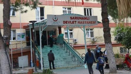 Manisa'da çok sayıda çalışanın testi pozitif çıktı, devlet hastanesinin poliklinikleri kapatıldı