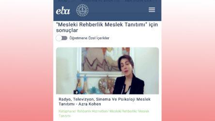 MEB ünvan sahteciliğine katıldı: Azra Kohen'e EBA'da psikoloji meslek tanıtımı yaptırdı