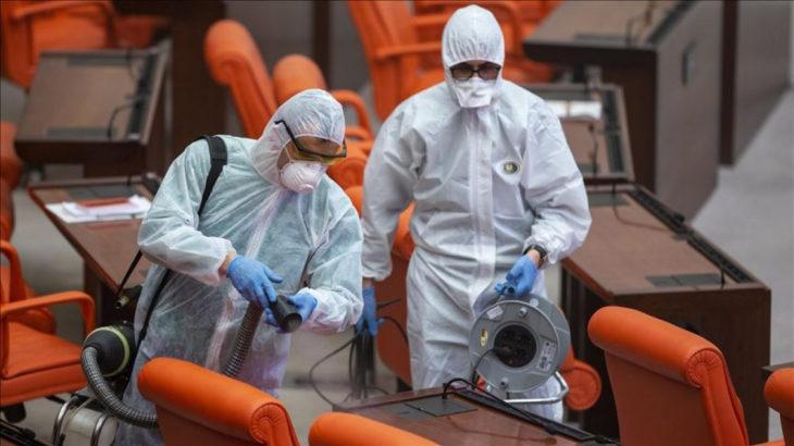 Meclis'te bir doktorun koronavirüs testi pozitif çıktı: 213 kişi yakın takipte