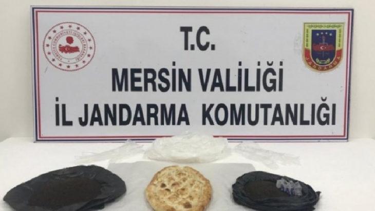 Mersin Silifke'de fırıncıdan ekmek arası uyuşturucu servisi