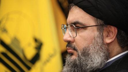 Nasrallah: ABD'nin Lübnanlıları birbirlerine karşı kışkırttığını herkes görüyor