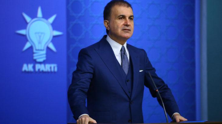 AKP Sözcüsü Çelik: Bu cunta çağrılarına direniyoruz
