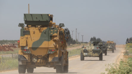 İdlib'deki ortak devriye Urum el Coz kasabasına kadar ilerledi