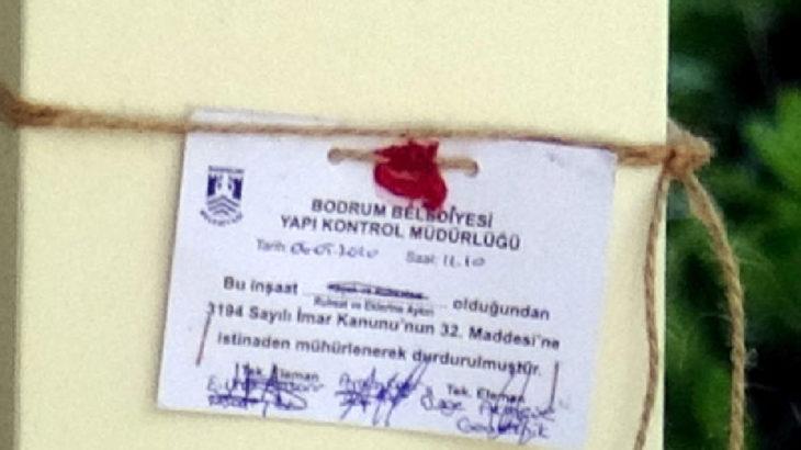 Yılmaz Özdil'in villası mühürlendi