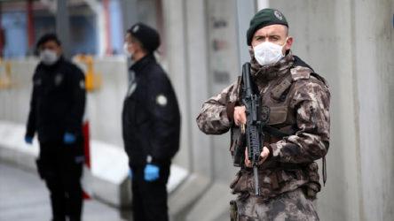 Polislerin koronavirüs testi pozitif çıktı