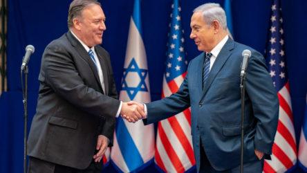 Pompeo İsrail ziyaretinde Çin ve İran'ı hedef aldı