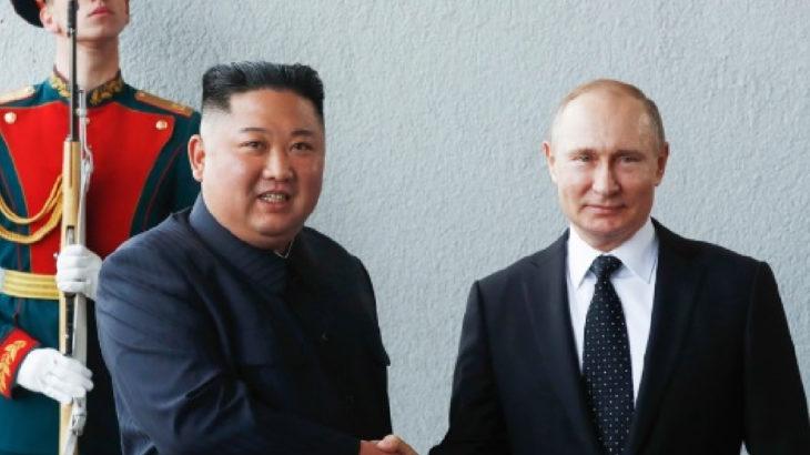 Putin'den Kim Jong-Un'a madalya