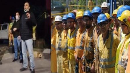 Rize'de maden işçileri iş bıraktı: Burası Nazi kampı değil