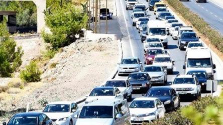 Seyahat kısıtlaması kalktı: Bodrum'a 15 saatte 6 bin araç giriş yaptı