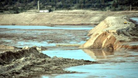 Eskişehir'de siyanür barajı kuruluyor